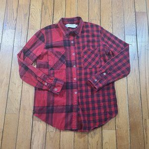 Gypsy Warrior Women's Flannel Button Down Top